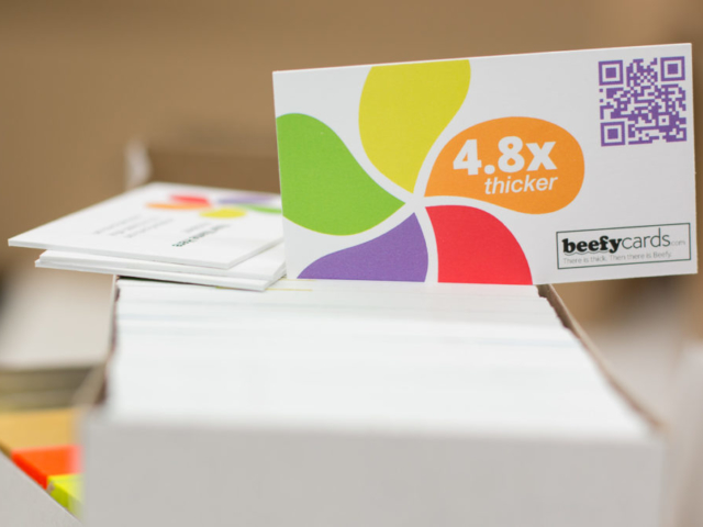 Super Thick Business Cards www.beefycards.com