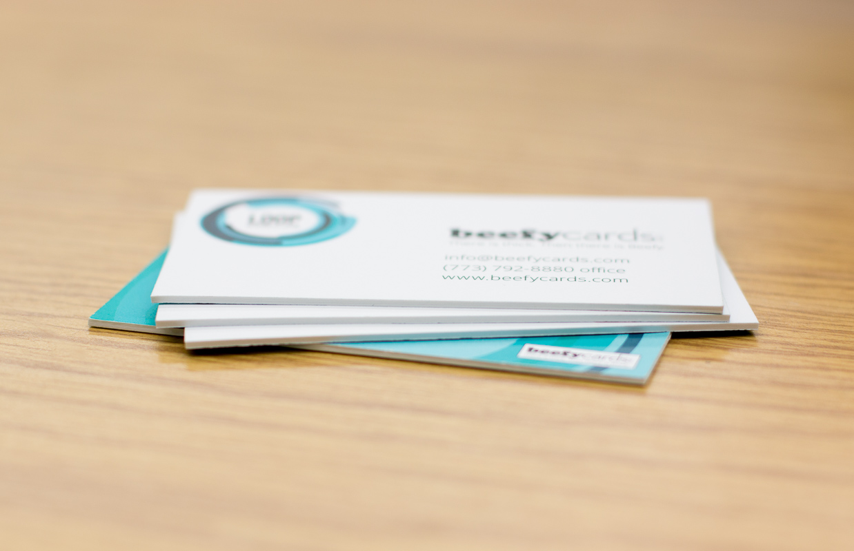 Ultra Thick Business Cards from BeefyCards.com